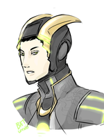 Loki's Suit by Batwynn