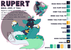 Rupert Ref Sheet by XNedra22
