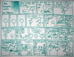 The Turquoise Comic by SWJG