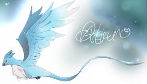 Commission-Gift: Articuno by jamuko