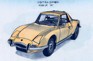 French Lotus from the early 70's by BlackLeatheredOokami