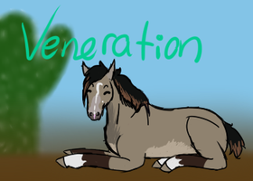 veneration, for mooneth by Unykorne