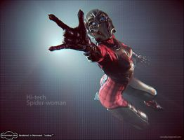 spider-woman by iRj