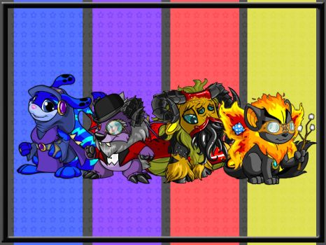 My Neopets by reynaruina