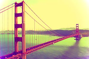 golden gate bridge frisco by suicidecrew