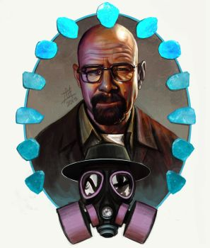 Walter White by GrayAppleWantsHerBB