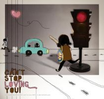 can't stop loving you by deWhin
