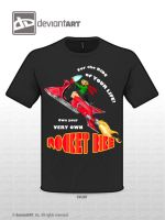 YOUR VERY OWN ROCKET BIKE by SCT-GRAPHICS