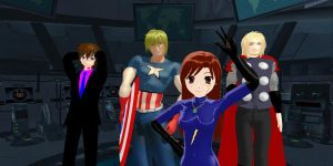 Join Us! Marvel MMD Group by kellytecna