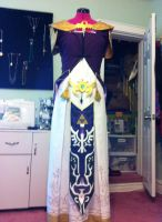 princess zelda cosplay by carblecca