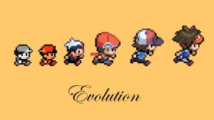 Evolution of Pokemon by TheDMWarrior