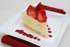 Strawberry Cheese Cake by Ronaldpanda