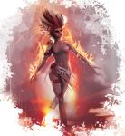 Woman in Flames by gkrit