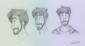 Xephos doodles by RatherPeculiar