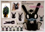 ZELO d Warrior Bunnies by SongAhIn