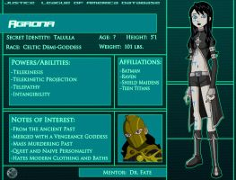 Agrona: Character Profile by Glee-chan