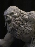 Swamp Thing WIP by Blairsculpture