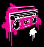 Ghetto blaster by vectorrobot