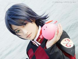 athrun with haro by sis-sis