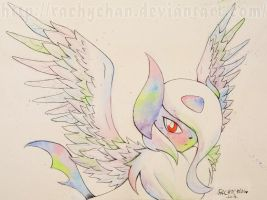 Rainbow Angel by RachyChan