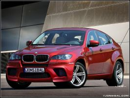 BMW X6M by jonsibal