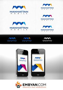 Mmobile - Logo by embyan