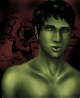 Gar Mark Logan - Beast Boy by BlueFoxJutsu