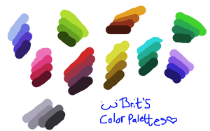 MOAR PALETTES FOR YOU GAIZ by Useful-Toxican