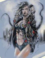 WITCHBLADE by thecrow3