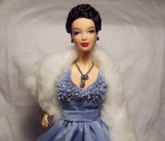 Ava Gardner doll closeup by Jetti-G
