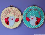Catbug Hoops by loveandasandwich