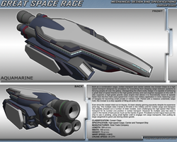 Great Space Race - Corsair Class by TurinuZ