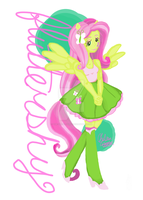 Fluttershy Equestria Girls by The-Virgo-Fairy