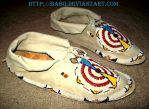 Side View of the Moccasins by BaBQ
