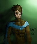 Nightwing by obviousproductions