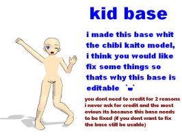 MMD kid base by bawicho