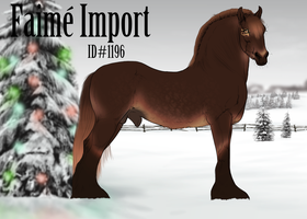 1196 Faime Import by emmy1320