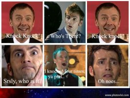 The Doctor and Master: Knock Knock Joke by lam8507