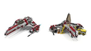 Lego E-Wing MOC by myINQI