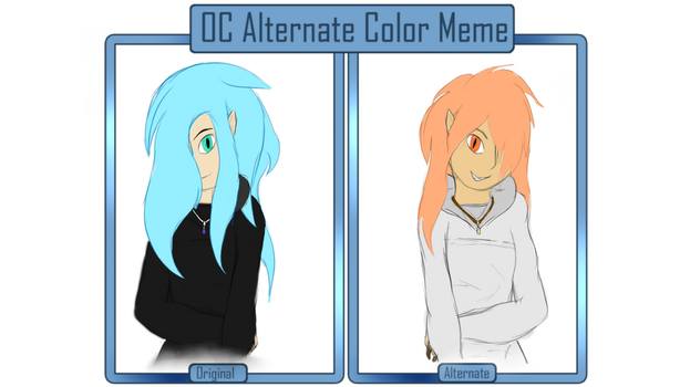 Alternate Color Meme-NightBlossom by NightBlossom----Sans