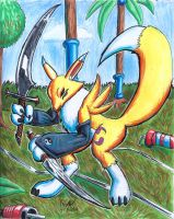 Renamon 05112014 by blademanunitpi