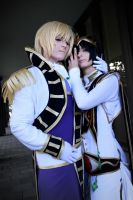 Lelouch and schneizel by Oksepik