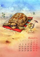August by mary-petroff
