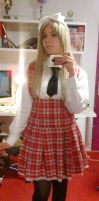 Gakuen Belarus Cosplay - Almost there by Waitingforspring