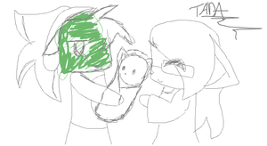 Iscribble Fun With Friend E3e by XxNeo-The-HedgehogxX