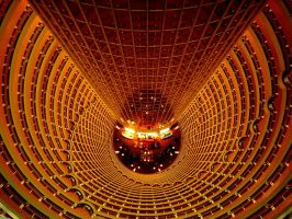 Down the Jin Mao Tower by TopDroPics