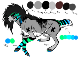 Character for sale. OPEN by Plyux