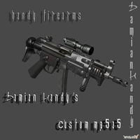 Damian's Custom MP5A5 Sub Machine Gun by DamianHandy