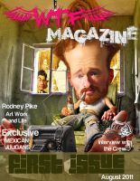 WTF Magazine Feature and Cover by RodneyPike