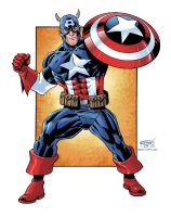 Captain America Commission Color by ScottCohn